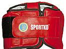 Шлем боксерский  ФБУ красный, фото 2