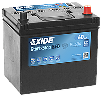 Акумулятор Exide Start-Stop EFB 60AH/520A (EL604)