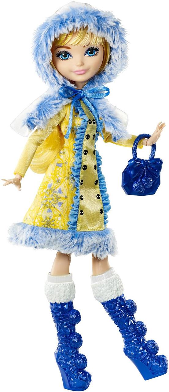 Кукла Ever After high Blondie Lockes Epic Winter Блонди Локс Эпическая зима