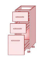 Нижний модуль 33 к кухням Prestige, Mirror Gloss и Hight Gloss фабрики Mebel-Star
