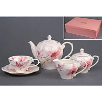 Чайный сервиз Орхидея 15  предметов на 6 персон