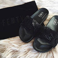 Тапочки Fenty Puma By Rihanna Black