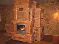 Современные печи и камины  для отопления дома