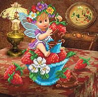 Схема для вышивки Клубнично шоколадная фея