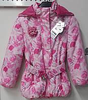 Куртка детская для девочек.104 116