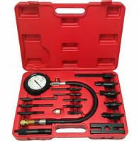 Компрессометр для дизельных двигателей с набором комплектующих Alloid