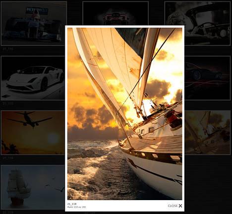 Бесшовные  фотообои Яхта 21_118