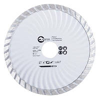 Диск отрезной Turbo, алмазный 125 мм, 16-18% INTERTOOL CT-2002, фото 1