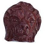 Керамические украшения Лев Большой