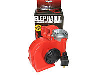 Сигнал воздушный CA-10424 Elephant 24V красный
