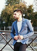 Очень удобный и стильный трикотажный пиджак