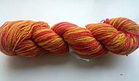 Цветная пряжа  Кауни Flame 400Пряжа из 100% овечьей шерсти подходит для ручного вязания рукоделия