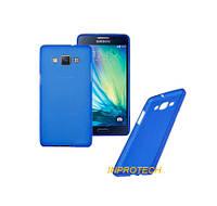 Чехол-Накладка Silicon Case для Samsung A500 (A5) Blue