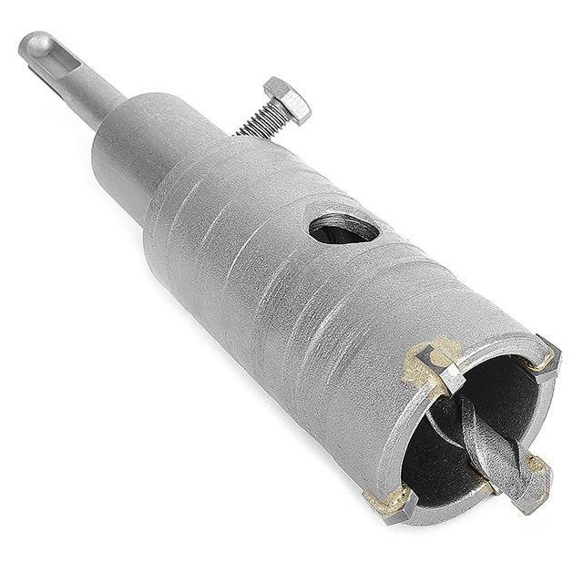 Комплект: сверло корончатое по бетону 36 мм и Переходник SDS Plus 100мм INTERTOOL SD-7036