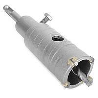 Комплект: сверло корончатое по бетону 36 мм и Переходник SDS Plus 100мм INTERTOOL SD-7036, фото 1