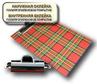 Планшет А5 с прижимом CLIPBOARD PP покрытие шотландка