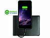 Бумажник No mad со встроенной батареей и Lightning кабелем для зарядки i Phone.