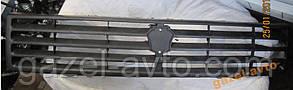Решетка радиатора старого обазца Газель, Соболь, Рута (пластик, черный цвет)