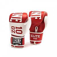 Боксерские перчатки Leone Elite Red. 10oz
