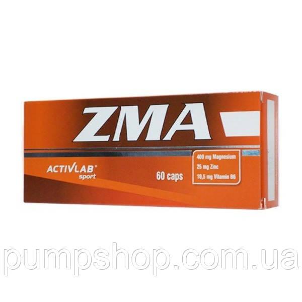 Цинк + магній + вітамін B6 Activlab Zma 60 капс.
