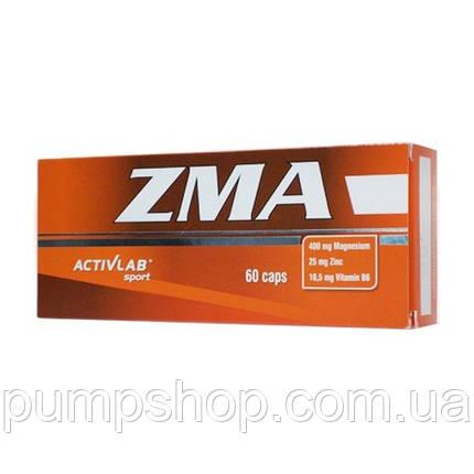 Цинк + магній + вітамін B6 Activlab Zma 60 капс., фото 2