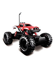MAISTO TECH Автомодель  на р/у  Rock  Crawler красный  (81152)