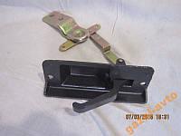 Ручка двери Газель, Соболь задней левой (стопора задка) с металлическим основанием (мыльницей)2705, 2217,2752