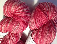 Овечья пряжа Кауни Pink 400  Пряжа из 100% овечьей шерсти подходит для ручного вязания рукоделия
