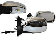 Боковые зеркала для ВАЗ 2109 хром с поворотом