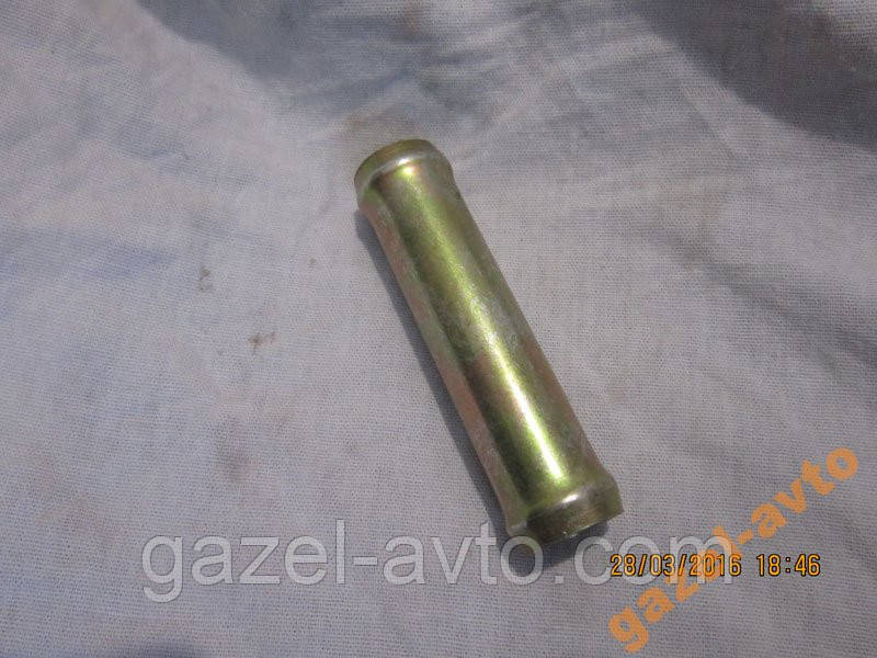 Переходник отопителя (прямой) 18/18мм метал Газель