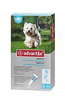 Advantix от блох и клещей для собак вес4-10 кг