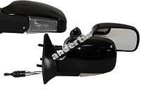 Боковые зеркала для ВАЗ-2109 черное с поворотом