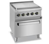 Электрическая напольная плита Apach APRES-77FE с духовкой, сплошной поверхностью и 4 зонами нагрева