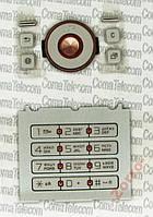 Клавиатура для Sony Ericsson S500 (Silver) Качество