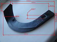 Нож для активной фрезы IT220 (для минитрактора)