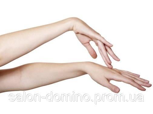 Воскова депіляція рук повністю  Салон краси «Доміно» Львiв (Сихів)