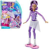 Кукла Barbie DLT23 на музыкальном ховерборде из м/ф Барби: Звёздное приключение