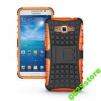 Чехол Samsung A700 / A7 2015 противоударный бампер оранжевый