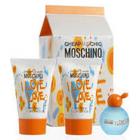 MOSCHINO I LOVE LOVE set (edt 4,5 +b/l 25+s/g 25 )L