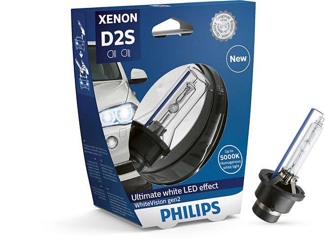 Ксенон D2S Philips WhiteVision gen2