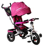 Трехколесный велосипед-коляска Azimut Crosser T-400 фиолет***