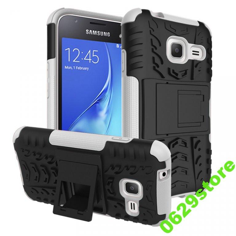 Чехол Samsung J105 / J1 mini противоударный бампер белый
