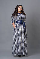 Платье женское мод 487-1 ,размер 50,52,54 лапка (А.Н.Г.)