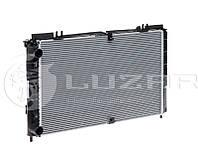 Радиатор охлаждения Ваз 2170 2171 2172 Приора с кондиционером PANASONIC ЛУЗАР