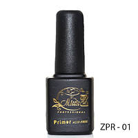 Безкислотный праймер для обезжиривания натурального ногтя 7мл. ZPR-01