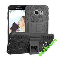 Чехол Samsung S6 / G920 противоударный бампер черный