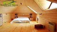 Обшивка вагонкой потолка  деревянного дома