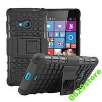 Чехол Microsoft Lumia 535 противоударный бампер черный