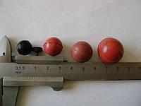 Шарики резиновые  диаметром 25 мм  из пищевой резины.