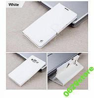 Чехол Samsung A300 / A3 2015 книжка Flower Ultrathin белый